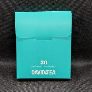DAVIDsTEA Filters 20 Pack - Special Offer Inside